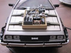 Back to the Future III toycar collection