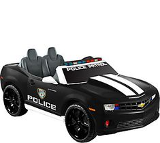 Kid Motorz Black Chevrolet Camaro Police Editio n Two-Seater Toy Cars For Kids, Toys For Girls, Kids Power Wheels, Power Wheel Cars, Lights And Sirens, Barbie, Kids Ride On, Police Cars, Lamborghini Aventador