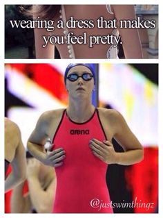 Tech suits make me feel pretty - swimming - Swimming Funny, I Love Swimming, Swimming Diving, Swimming Tips, Swimmer Quotes, Swimmer Girl Problems, Scuba Diving Quotes, Competitive Swimming, Synchronized Swimming