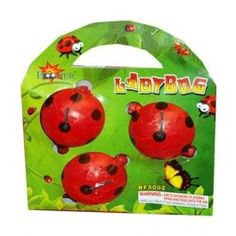 Boomer: Lady Bugs - (Bag of 3) - Spinners and Flyers, Love these :) - Wild Willy's Fireworks