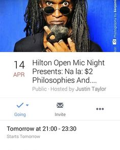 Follow @kw3hmd on Instagram: Here is the link to the official FB event page for tomorrow night's Open Mic Sessions hosted by Justin Taylor (AKA Sunrokk) at The Hilton Hotel where I will be performing with The Mechanical Devices!  http://ift.tt/1SB3X66  Admission: Free Event time: 9:00 PM - 11:30 PM Location: Needham's Point Bridgetown St. Michael.  #openmicnight #thehilton #hiltonbarbados #barbados #bridgetown #livemusic #poetry #dance #singers #localtalent #guitarist #latin #eastern #ethnic…