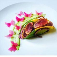 Imagini pentru gourmet food presentation tuna