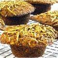 Super Moist, Skinny Carrot Cake Bran Muffins with Weight Watchers Points | Skinny Kitchen