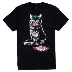 Batman The Joker Cat T-Shirt