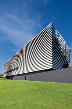 EQUITONE facade materials. Technology Building in Leuven / de Jong Gortemaker Algra. www.equitone.com #architecture #material #facade