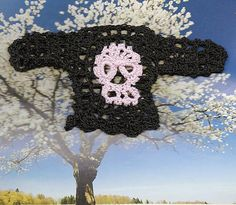 Ravelry: Crochet Skull Sweater for Barbie or any 11 1/2 inch Fashion Doll pattern by Spider Mambo