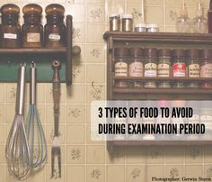 3 Types of Food to Avoid During Examination Period