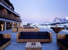 Alpina Dolomites Lodge is located on the Alpe di Siusi, Italy. Europe's most beautiful and largest high-altitude plateau.