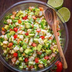 Avocado Shrimp Salsa