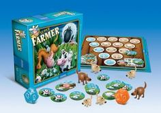Granna Super Farmer: A Game of Planning and Risk Bilingual Edition Board Game in Board Games. Origami Butterfly, Jurassic World, Farmer, Board Games, Decorative Boxes, Kids, Ebay, Sport, Products