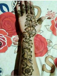 Short Mehndi Design, Mehndi Designs Front Hand, Latest Arabic Mehndi Designs, Rose Mehndi Designs, Latest Bridal Mehndi Designs, Full Hand Mehndi Designs, Mehndi Designs 2018, Henna Art Designs, Mehndi Designs For Beginners
