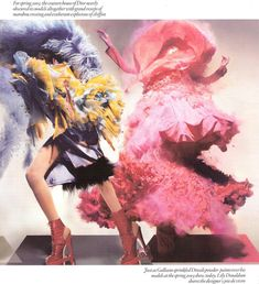 Jourdan Dunn & Lily Donaldson for Vogue UK, December 2008.  Photographed by Nick Knight and styled by Kate Phelan.