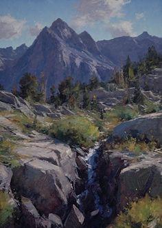 """Picture Peak"" by Matt Smith Oil ~ 22"" x 16"""