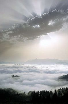 ^Above the Clouds....sunrise..beauty