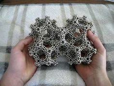 Interlaced Dodecahedron Frame of Zen Magnets