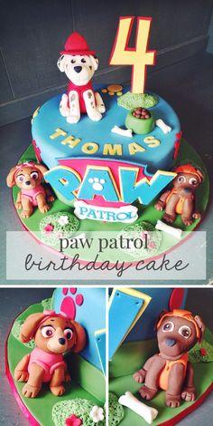 My Cakes | Paw Patrol Birthday Cake - Gym Bunny Mummy #pawpatrol @gymbunnymum
