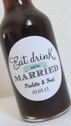 Thinkin about making our own beer whenever we say I do