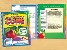 Writing Practice Common Core Journal - Gr. 2-3 - Each From Lakeshore Learning $3.99