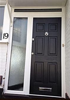 67420b75472f Rockdoor fitted in North London Grey Composite Front Door