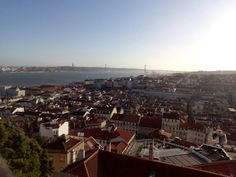 View from St Jorge Castle
