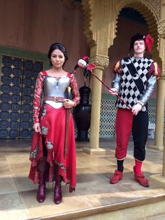 Princess Isabella Maria Lucia Isabeletta and the Jester