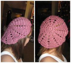 Cute Pink Crochet hat