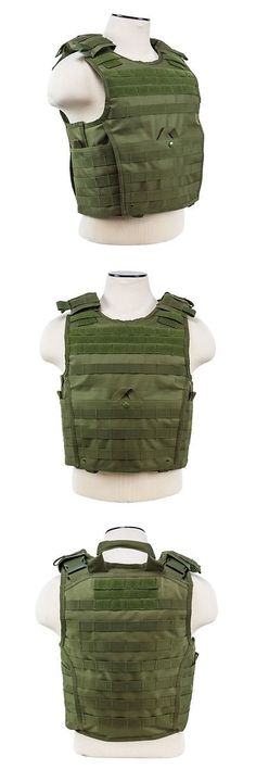 Chest Rigs and Tactical Vests 177891: Ncstar Vism Od Green Tactical Molle Operator Plate Carrier Body Armor Chest Rig -> BUY IT NOW ONLY: $48 on eBay!