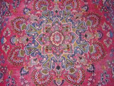 """Vintage Persian Rug - """"It really tied the room together, did it not, Dude?"""""""
