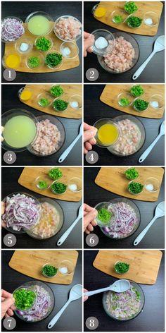 Tilapia Recipes, Fish Recipes, Seafood Recipes, Mexican Food Recipes, Mexican Desserts, Cooking Recipes, Freezer Recipes, Freezer Cooking, White Fish Ceviche Recipe