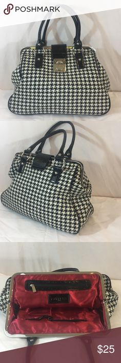 Express houndstooth purse Super cute! Like new! Express Bags Satchels