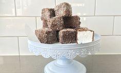 Marshmallow Lamingtons Cooking Chocolate, Melting Chocolate, Australia Day, Sugar And Spice, Marshmallow, Vanilla Cake, Fudge, Sweet Recipes, Sweets