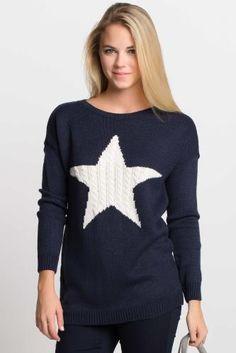 Yıldız Desenli Kazak Change, Jeans, Sweaters, Blue, Clothes, Fashion, Tall Clothing, Moda, Fashion Styles