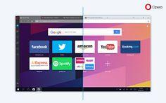Meet the very first Reborn build - Opera Desktop