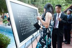 giant word search wedding games