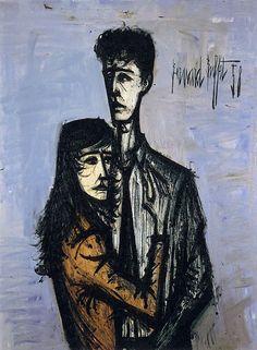 bernard-buffet-couple