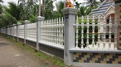 Hàng rào bê tông ly tâm giúp phân chia ranh giới