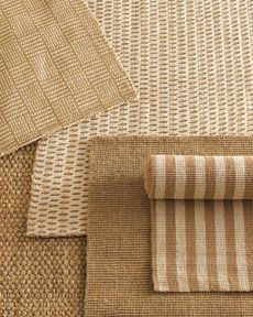 natural fiber rugs from Horchow