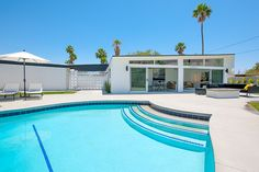 Classic Palm Springs Mid-Century Home in the Racquet Club Estates Neighborhood