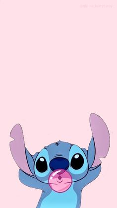 Cute Tumblr Wallpaper, Disney Phone Wallpaper, Cartoon Wallpaper Iphone, Wallpaper Pictures, Cute Cartoon Wallpapers, Pink Wallpaper, Wallpaper Quotes, Stitch Drawing, Dont Touch My Phone Wallpapers