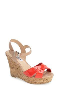 Dune London 'Kingdom' Wedge Sandal (Women) available at #Nordstrom
