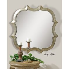 You'll love the Adelle Wall Mirror at Wayfair - Great Deals on all Décor  products with Free Shipping on most stuff, even the big stuff.