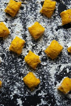 Pumpkin Gnocchi Treats Recipe — Dishmaps