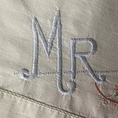 Vintage Mr & Mrs Embroidered Pillowcases - Pair of 2 – In The Vintage Kitchen Shop Sleeping Porch, Embroidered Pillowcases, Groom Looks, Kitchen Shop, If Rudyard Kipling, Newly Married, Laundry Service, Breakfast In Bed, Cozy Blankets