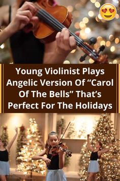 #Young #Violinist #Plays #Angelic #Version #Carol #Bells T#Perfect #Holidays Carol Of The Bells, Relationship Advice, Marriage Tips, Better Love, Beautiful Christmas, Chic Wedding, Baby Food Recipes, Couple Goals, Cute Couples