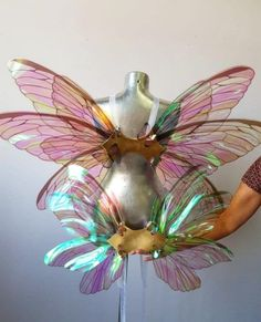 Angel Wings Costume, Cosplay Wings, Faerie Costume, Fairy Costume Adult, Renaissance Fairy Costume, Angel Costumes, Adult Fairy Wings, Diy Fairy Wings, Maleficent Wings