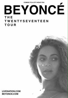 Beyoncé TWENTY SEVENTEEN World Tour 2017