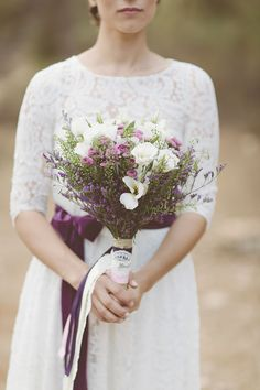 Purple Vintage Wedding