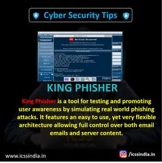 King Phisher is a tool for testing and promoting user awareness by simulating real world phishing attacks. It features an easy to use, yet very flexible architecture allowing full control over both email emails and server content. Teaching Technology, Computer Technology, Computer Programming, Computer Science, Computer Fan, Teaching Biology, Security Training, Security Tips, Online Security