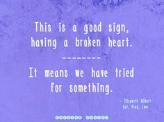 A Broken Love Picture Quote