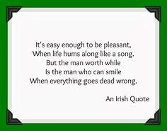 Irish Sayings | Irish Quote Friday